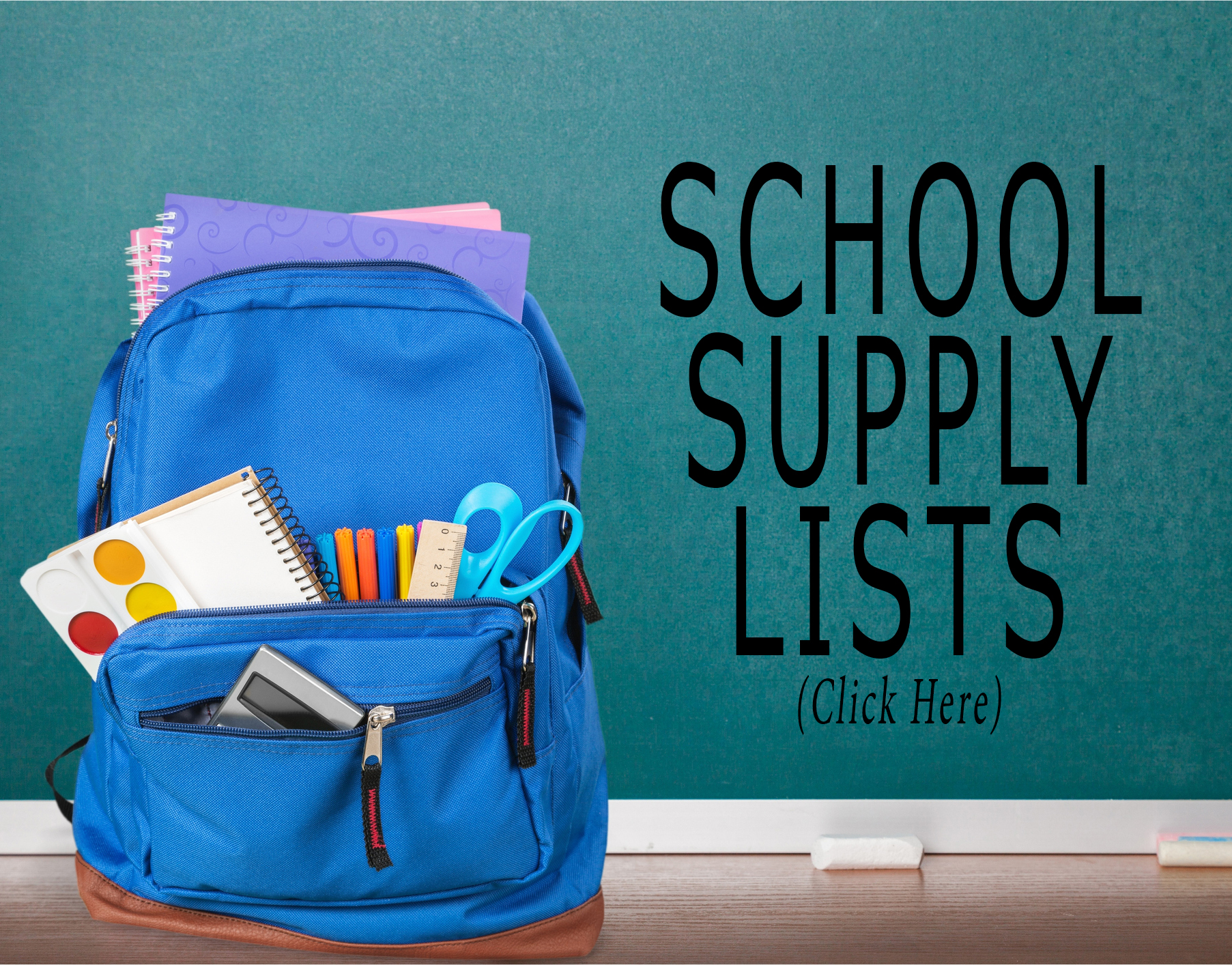 School Supply Wish List